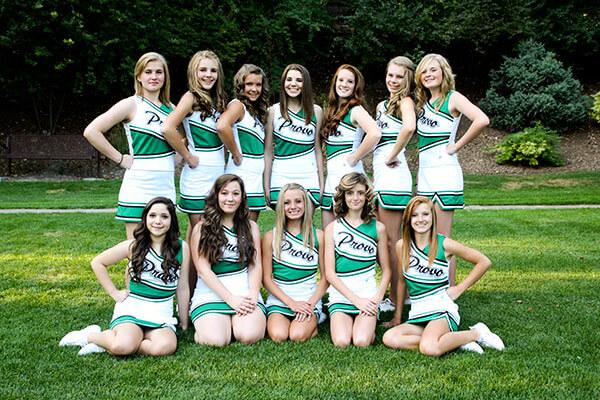 High School Cheerleader Pictures - America's Best Lifechangers